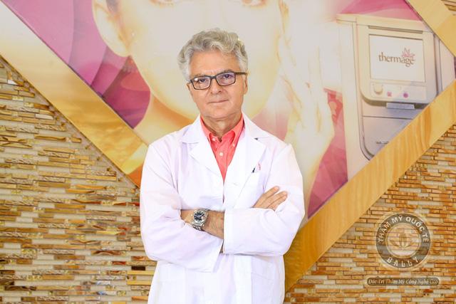 Dr. Vencinzo Mancini – chuyên gia da liễu nổi tiếng tại Mỹ