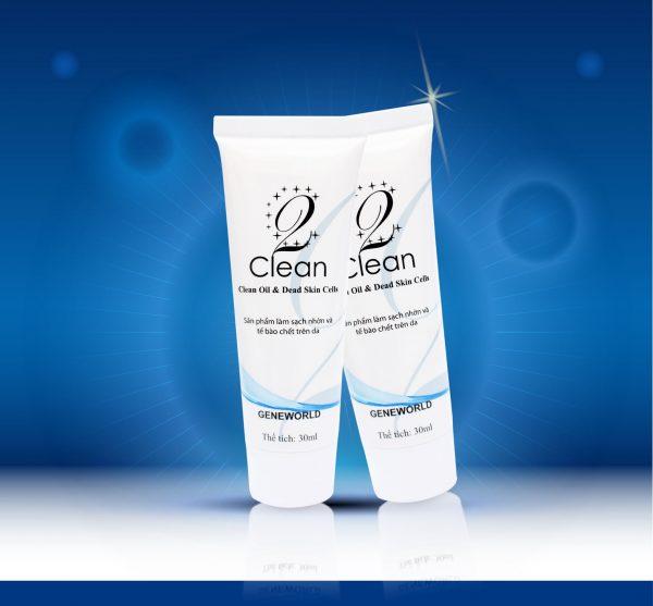 Tẩy tế bào chết 2 Clean không hoá chất độc hại