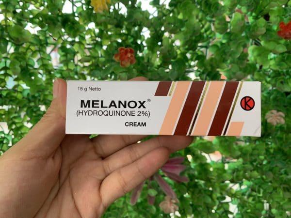 Kem trị nám da Melanox